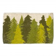 Woodland Trees Coir Mat