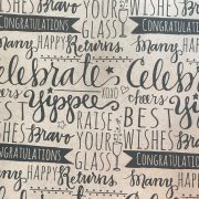 """Celebrate"" Gift Wrap Sample"