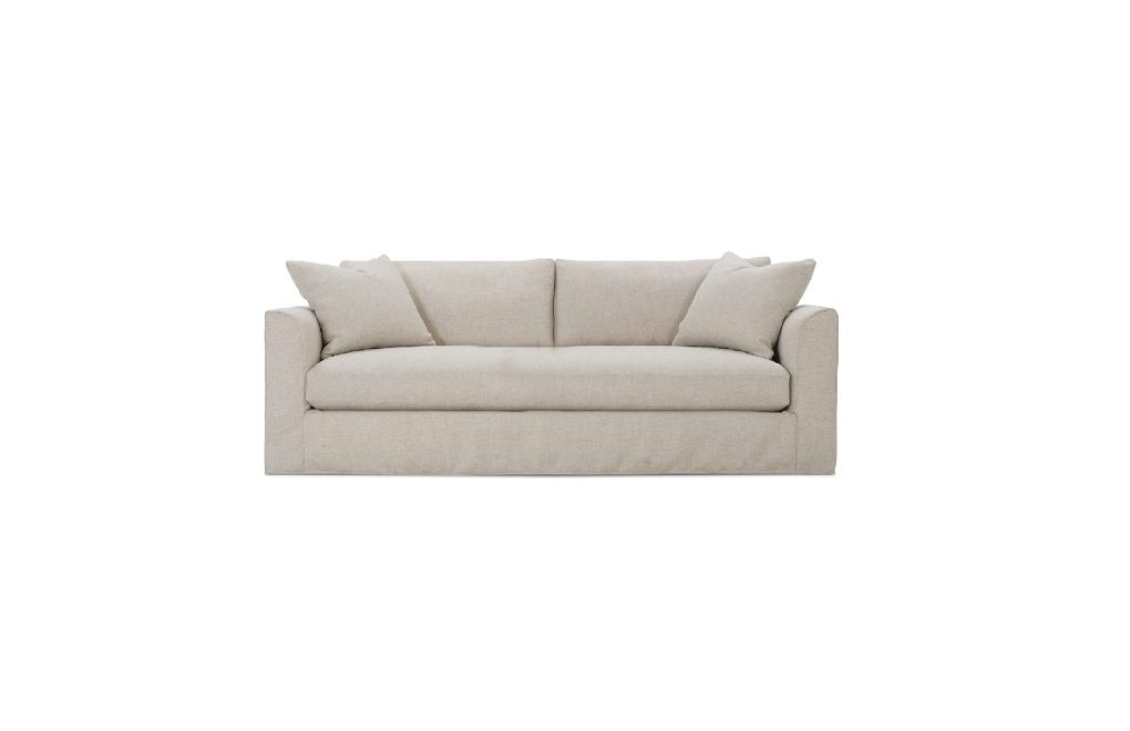 Rowe Derby Bench Slipcover Sofa