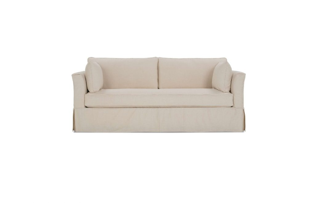 Rowe Darby Bench Slipcover Sofa