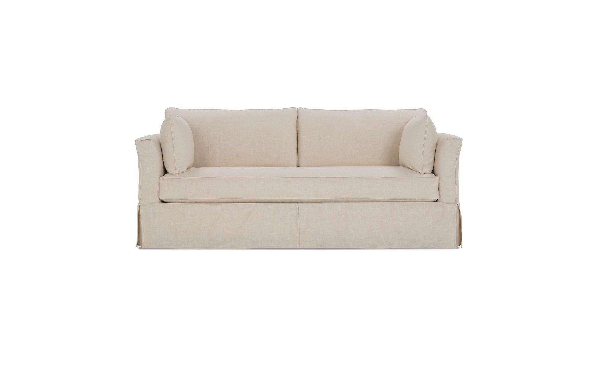 Rowe Darby Bench Slipcover Sofa