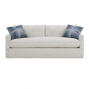 Rowe BRADFORD SLIPCOVER BENCH CUSHION SOFA