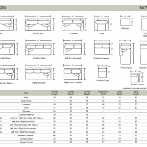 Biltwell Lodi Sofa Options