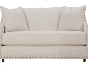 Rowe Upholstered Rockford Setee