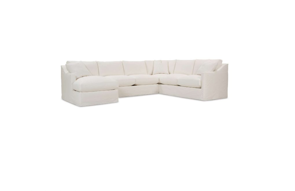 Rowe Bradford Slipcover Sectional Sofa