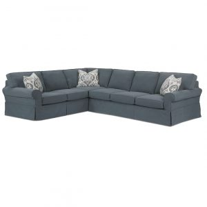Rowe Masquerade Slipcover Sectional Sofa