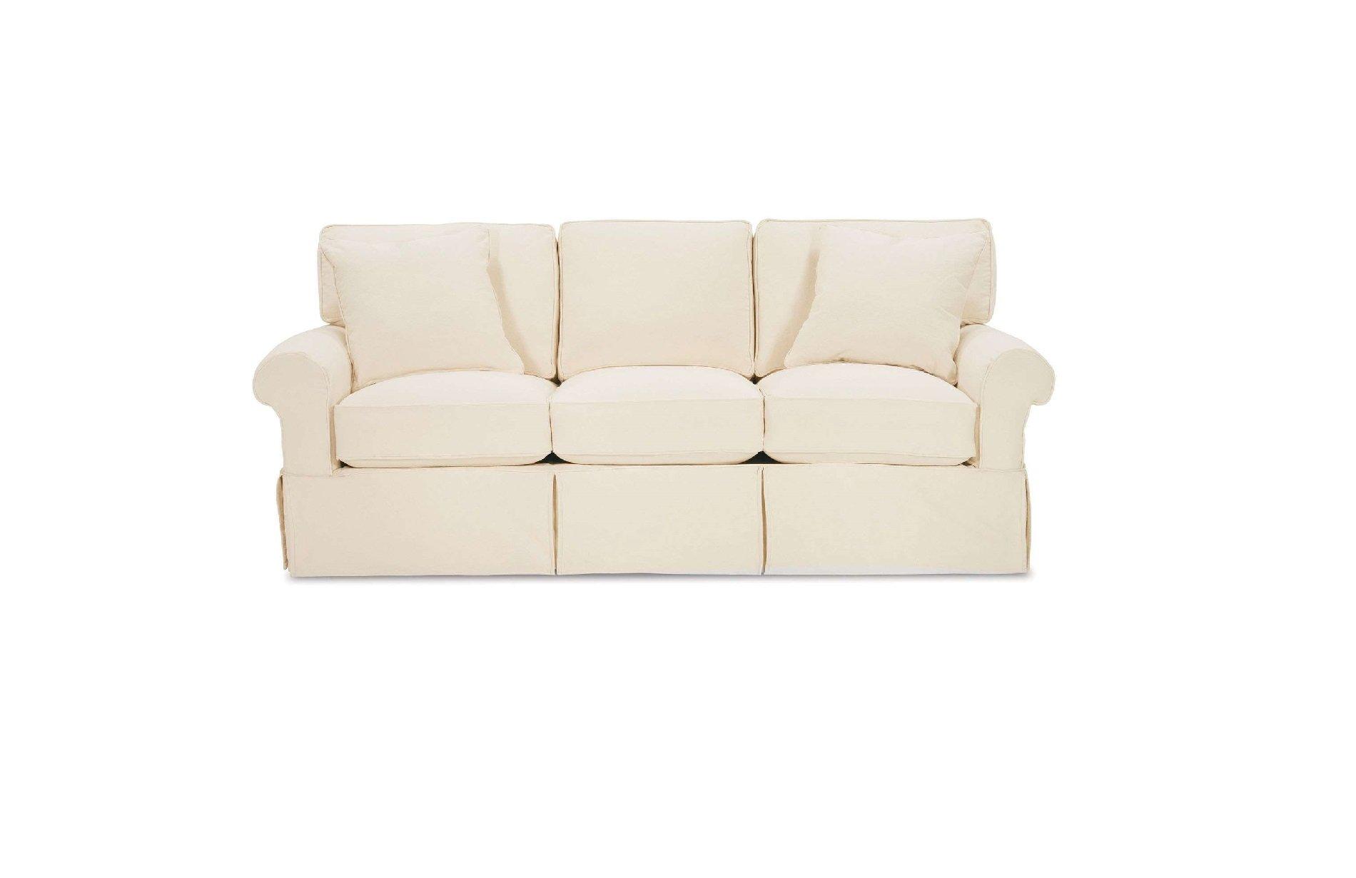 Rowe Nantucket 3 cushion sleeper sofa