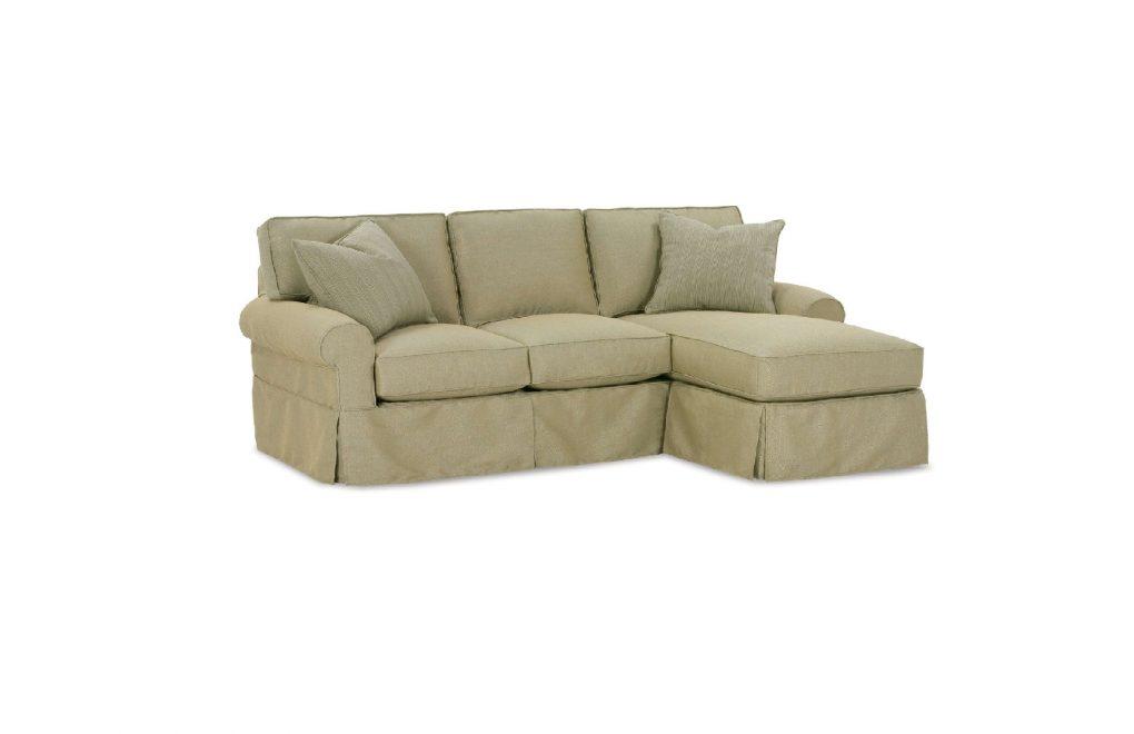 Rowe Nantucket Three Cushion Chaise Sofa