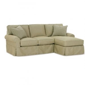 Rowe Nantucket Three Cushion Chaise Sofa