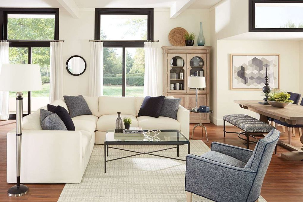 Rowe Derby Slipcover Sectional Sofa