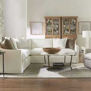 Rowe Upholstered Bradford Slipcover Sectional Sofa