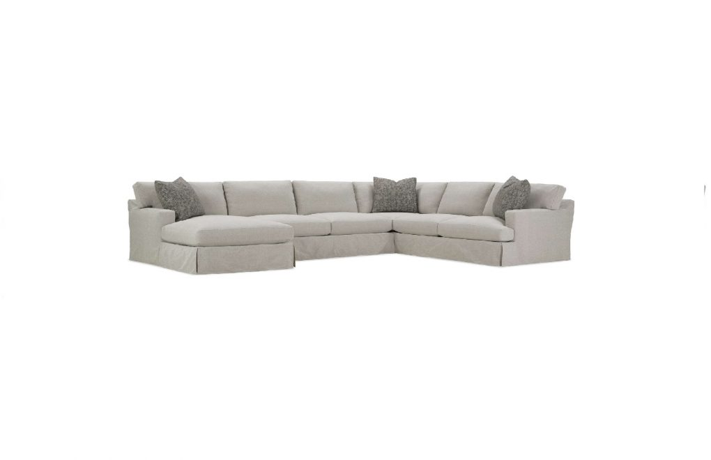 Rowe Grayson Slipcover Sectional Sofa