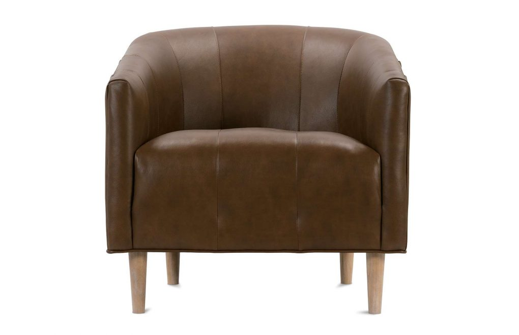Rowe Pate Leather Chair