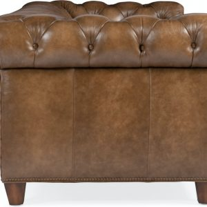Hooker Chested Tufted Stationary Chair