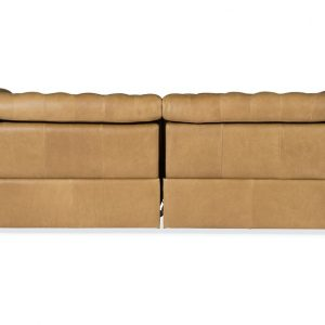 Hooker Furniture Living Room Savion 1.5 LAF/RAF 2 over 2 Sofa w/ PWR Rec PWR HR