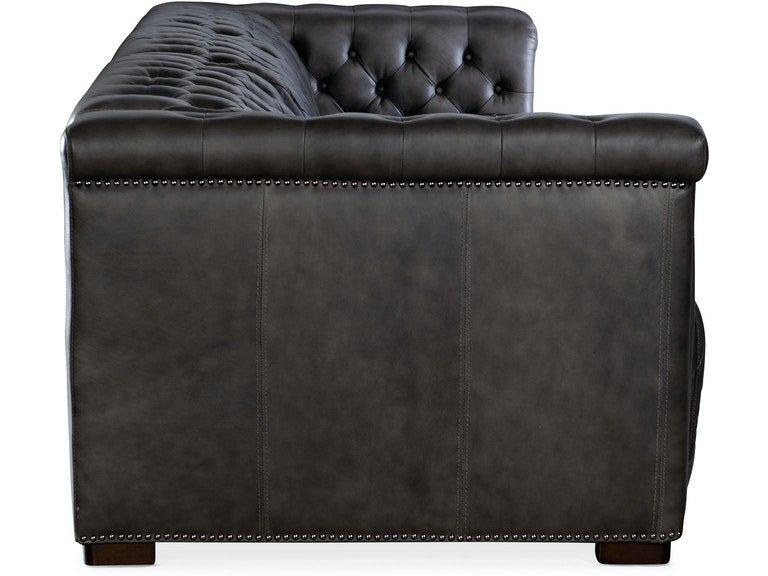 Hooker Furniture Living Room Savion Grandier Sofa w/PWR Recline PWR Headrest