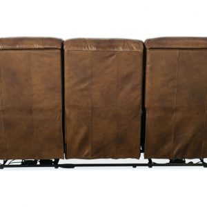Hooker Furniture Living Room Esme Power Recliner Sofa w/ Power Headrest