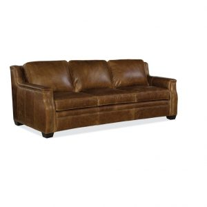 Hooker Furniture Living Room Yates Stationary Sofa