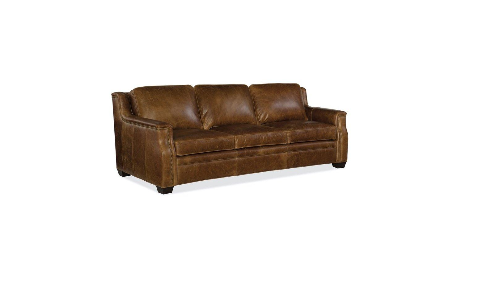 Hooker Furniture Living Room Yates Stationary Sofa