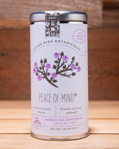 Peace of Mind Herbal Tea Supplement