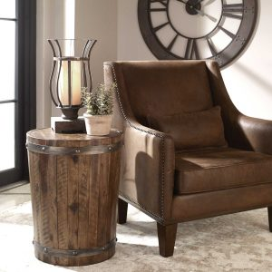 Uttermost Ceylon Side Table