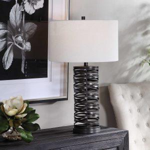 Uttermost Alita Black Table Lamp