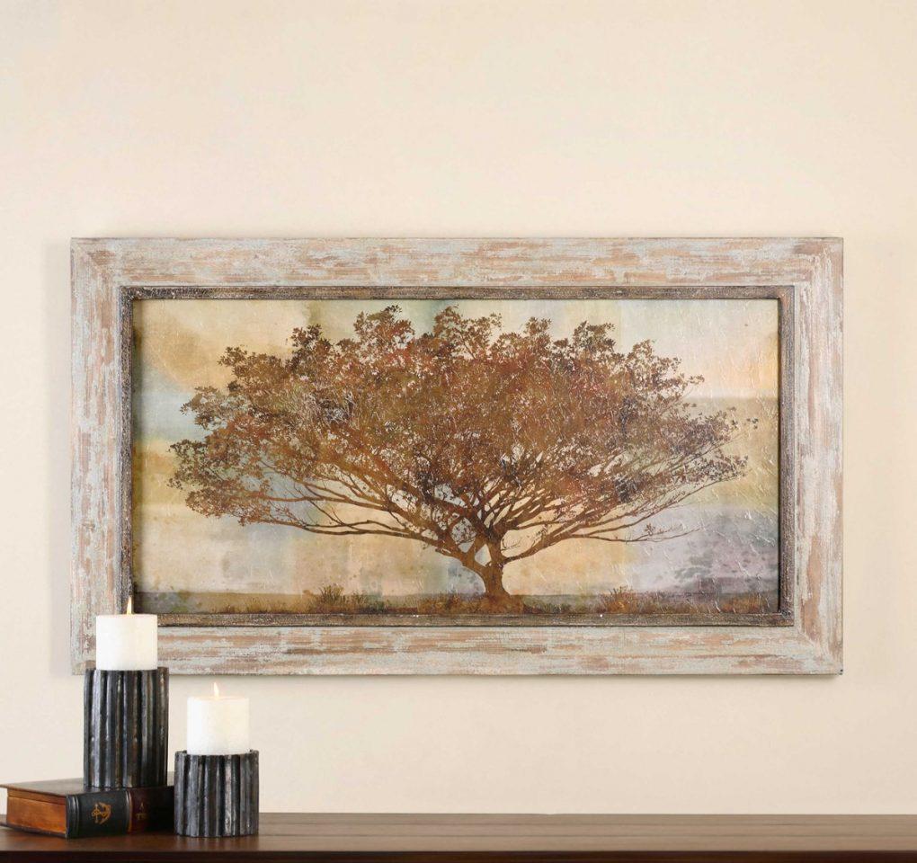Uttermost Autumn Radiance Sepia Oil Art