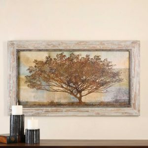 Uttermost Autumn Radiance Sepia Oil Art
