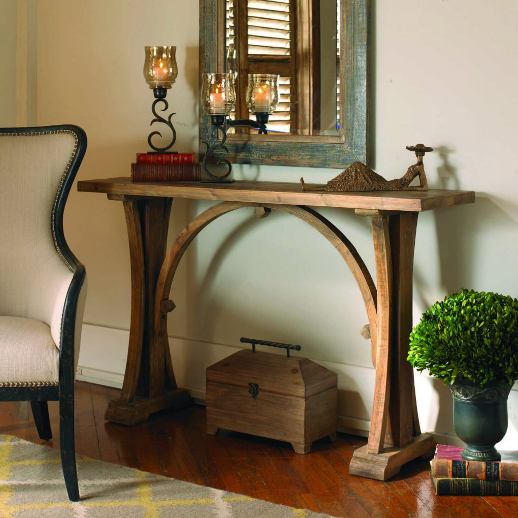 Uttermost Genessis Console Table