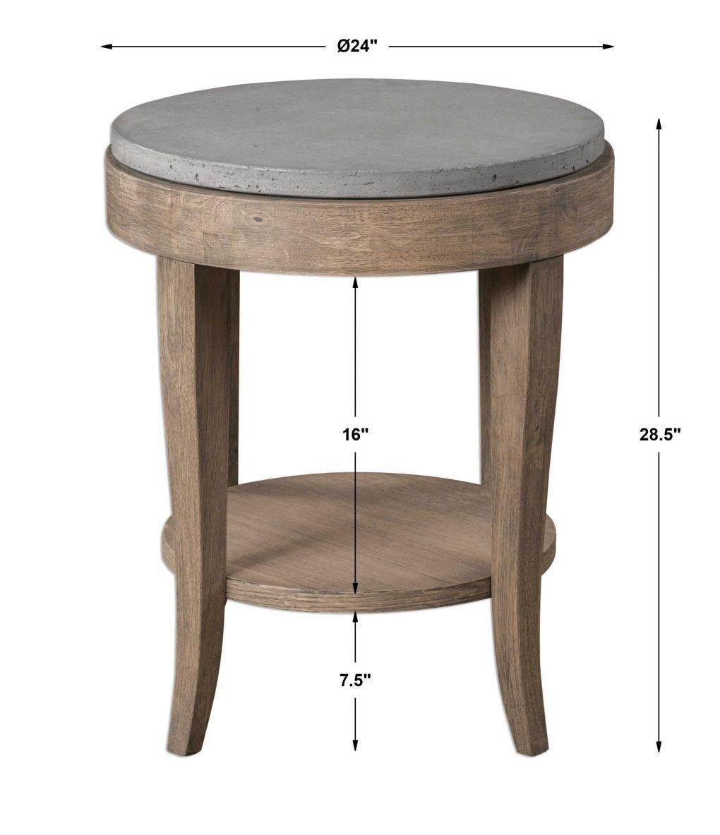 Uttermost DEKA SIDE TABLE