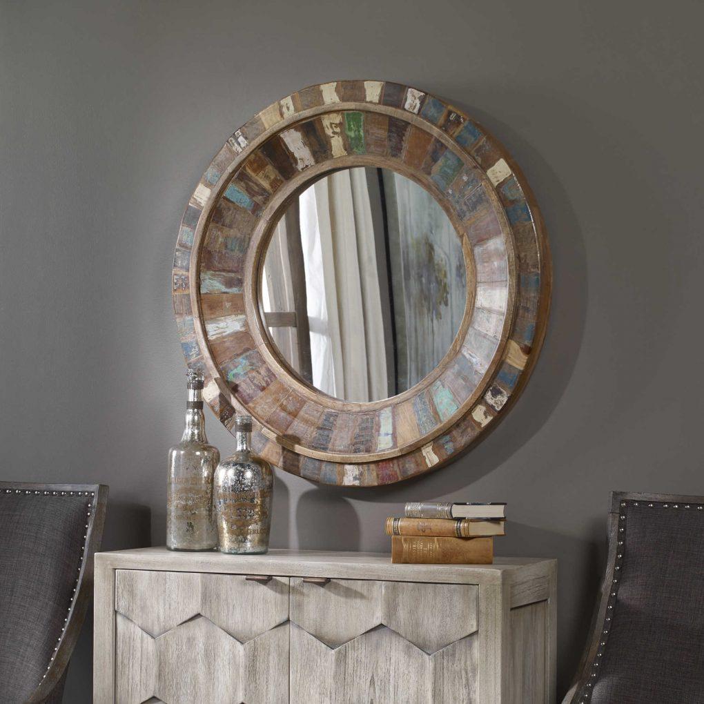 Uttermost Jeremiah Round Mirror